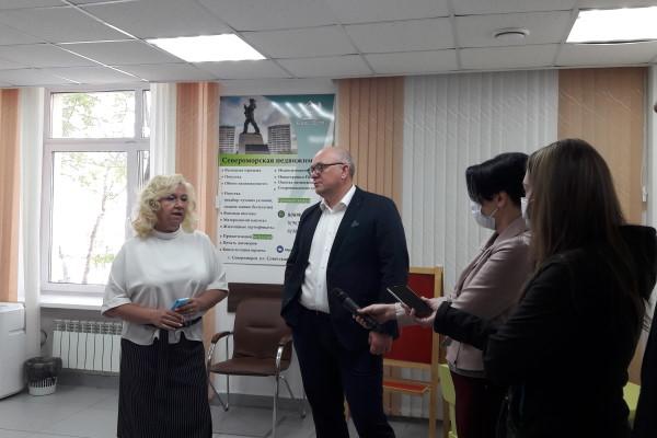 Елена Завадская и Владимир Евменьков