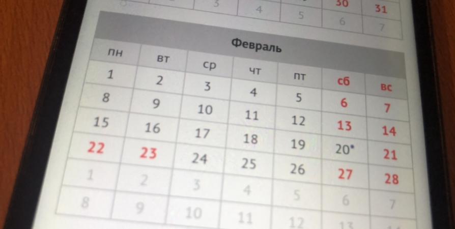 Следующие длинные выходные ждут жителей Заполярья в феврале