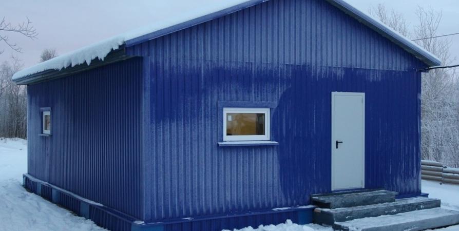 Для лыжников Кольского района построят пять теплых раздевалок