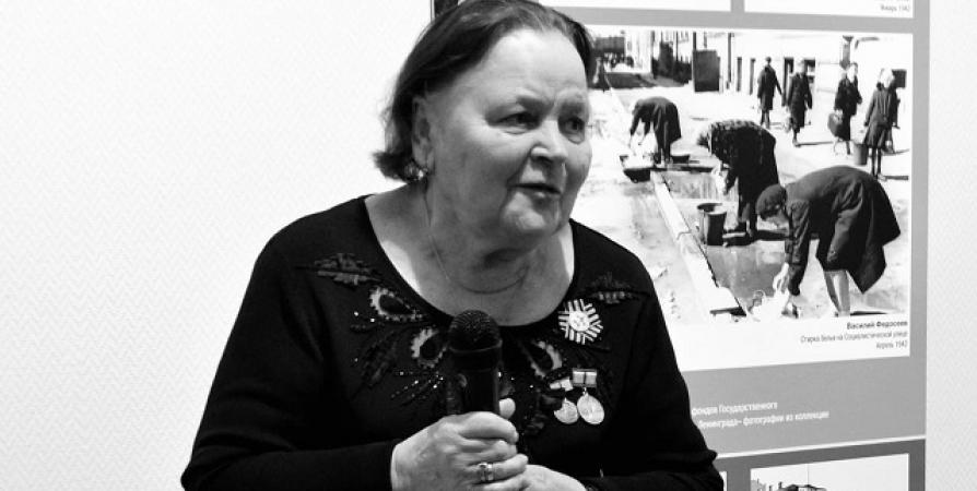 Не стало главы мурманской организации «Жители блокадного Ленинграда» Галины Бониной