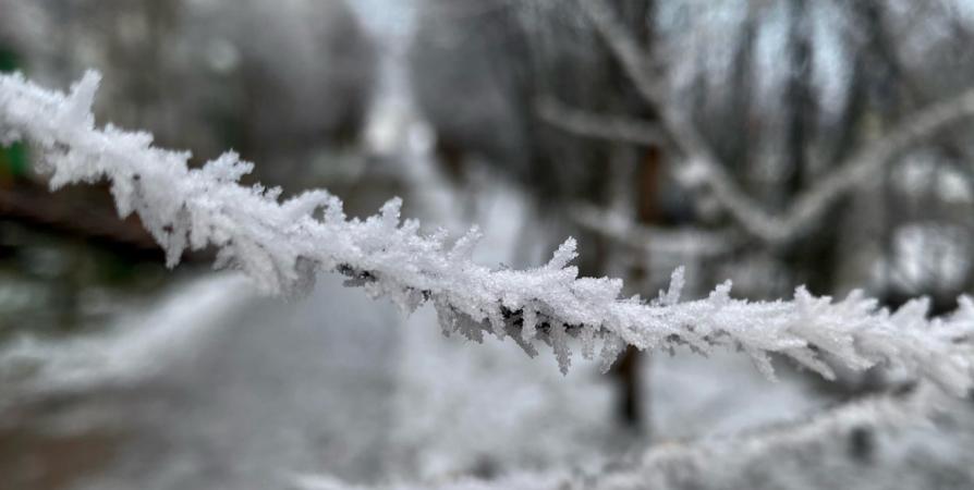 Северян предупредили о снегопаде и о -25° в Апатитах