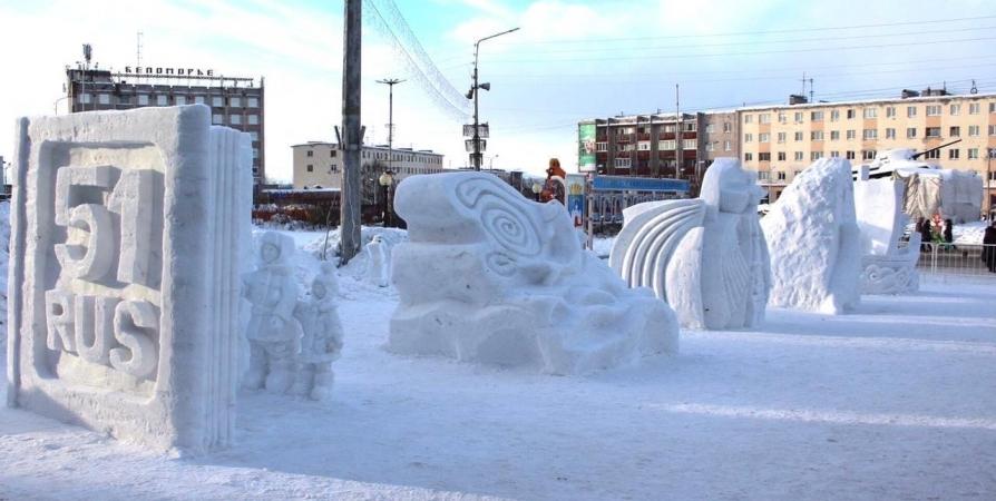 В Кандалакше появятся «космические» фигуры из снега
