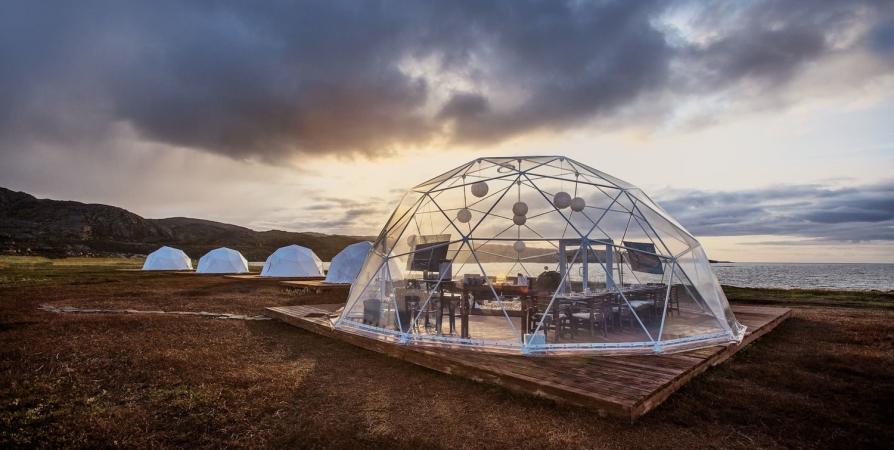 Первые глэмпинги в рамках туркластера «Лиинахамари» появятся в 2021 году
