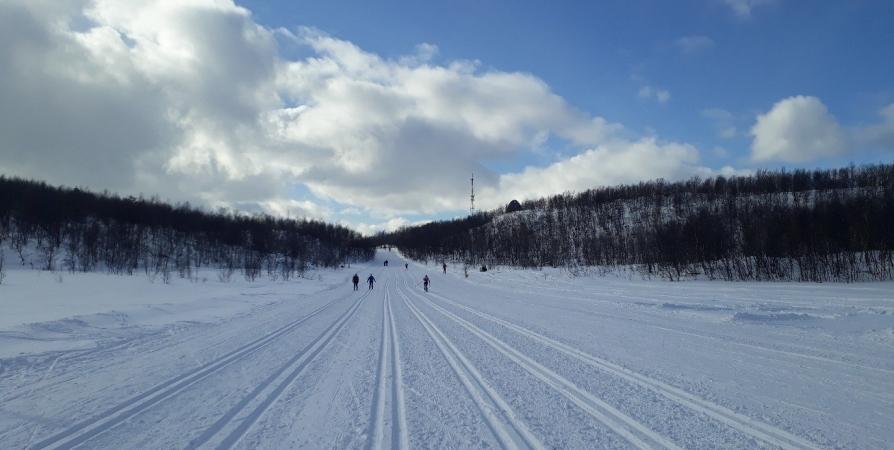В мурманской «Долине Уюта» из-за мороза отменили Первенство по биатлону