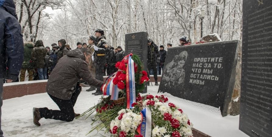 В Мурманске прошел митинг на 32 годовщину вывода войск из Афганистана
