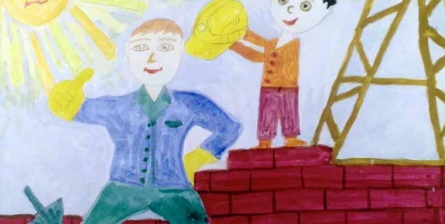 В Заполярье объявлен конкурс детских рисунков по охране труда