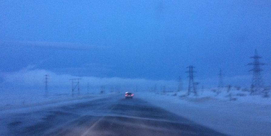 Перекрытие дороги на выезде из Мурманской области продолжится 19 и 20 февраля