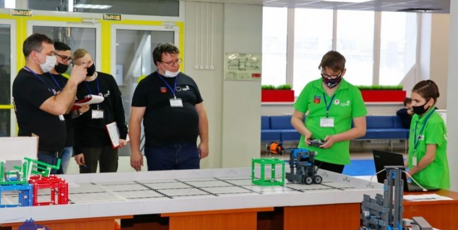Заполярные подростки создали роботов для завода авиационной техники