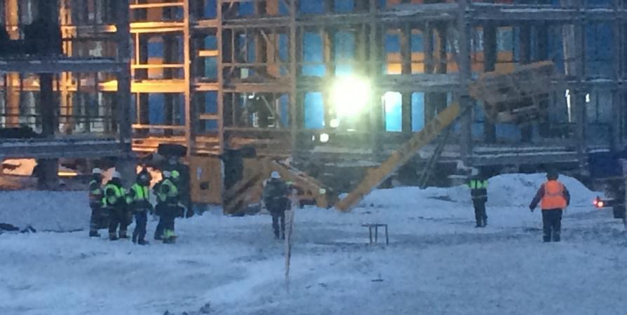 Очевидцы сообщили о новом падении подъемника в Белокаменке