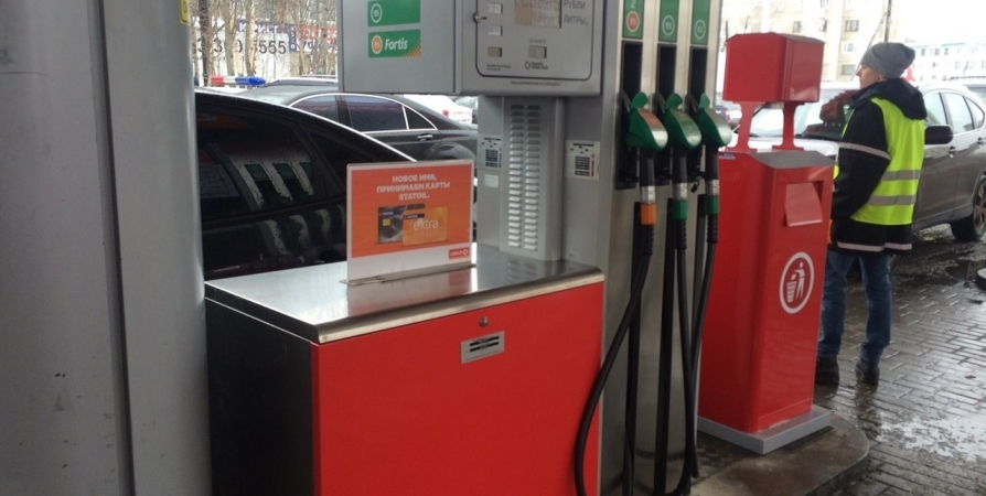 На 20 копеек выросла стоимость бензина в Заполярье