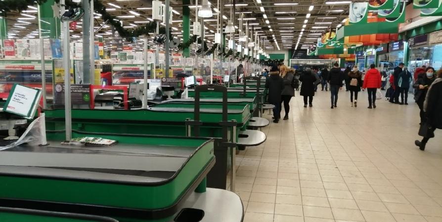 Мурманчанин попался на двойной краже продуктов в гипермаркете
