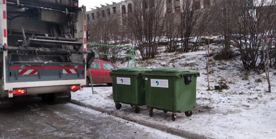 Вывоз мусора в Мурманске переходит в штатный режим