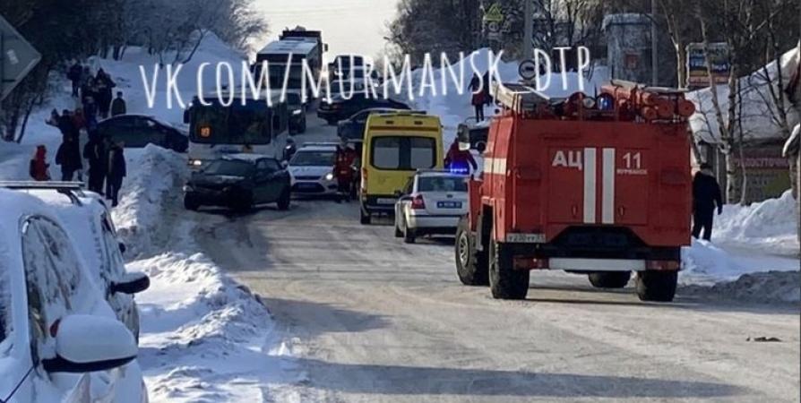 ДТП с пострадавшим на Чумбарова-Лучинского устроила 15-летняя мурманчанка