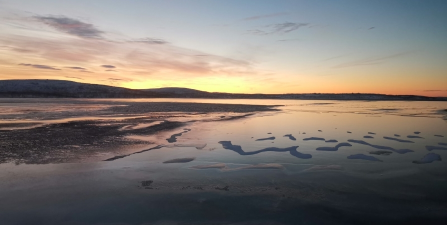 В Мурманске озеро Скалистое загрязняли стоками из канализации