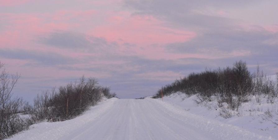 Проезд по дороге от развилки на Заозерск до Спутника открыли