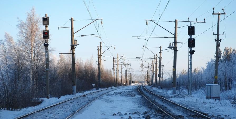 Попавшая под сход снега тургруппа доставлена на ж/д станцию Имандра