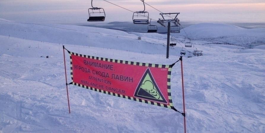 Завтра с 9 утра в Хибинах спустят лавины