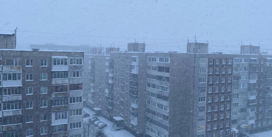 Сегодня на Кольском полуострове ожидается мокрый снег