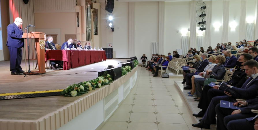 Подведению итогов деятельности судей Заполярья посветили конференцию