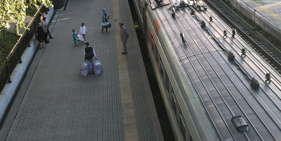 28 мая из Мурманска пойдет поезд в Анапу