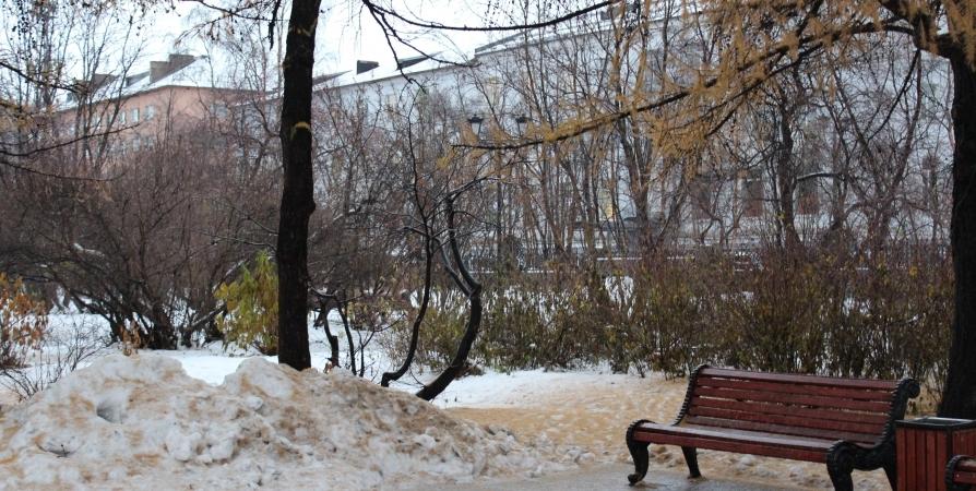 Мокрый снег и южный ветер обещают жителям Кольского полуострова