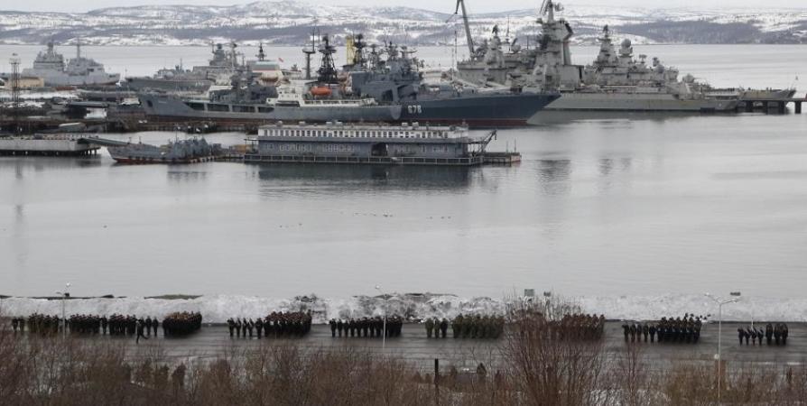 В Североморске и Мурманске военные готовятся к Парадам на 9 мая