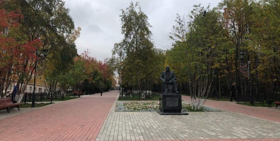 Бульвар в Мурманске на Буркова отремонтируют за 17 млн