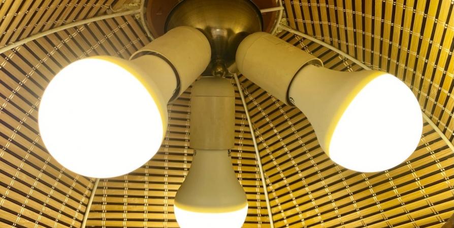 В мурманском детсаду загорелся светильник из-за короткого замыкания