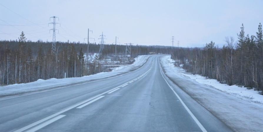 Четыре дня будут перекрывать подъезд к Североморску