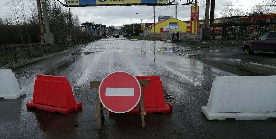 В Мурманске следят за рекой Роста в период весеннего паводка
