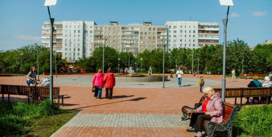 В сквере на Зои Космодемьянской мурманчане «подзарядятся» танцами