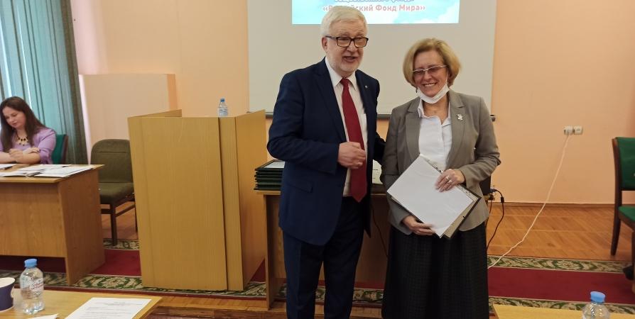 В Мурманске отметили успешность работы заполярного отделения «Российского фонда мира»