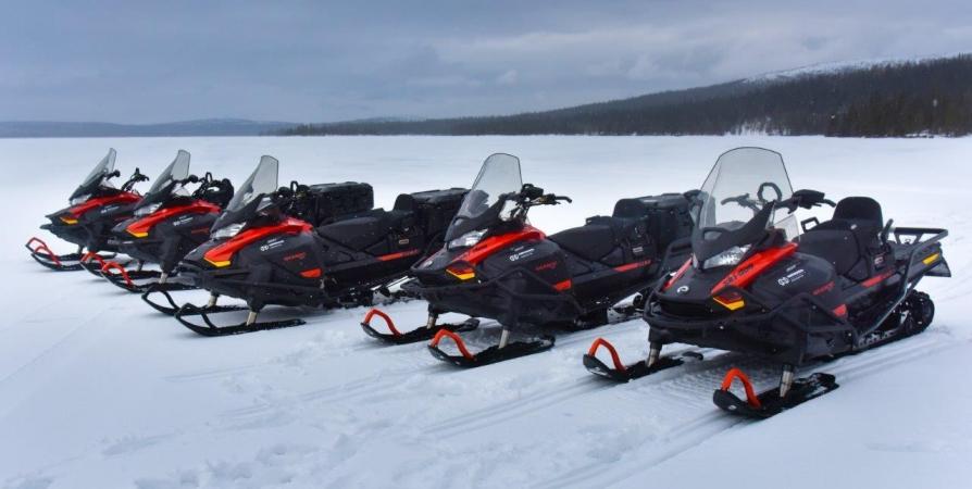 Кольская ГМК помогла Лапландскому заповеднику приобрести новые снегоходы