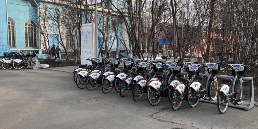 ВТБ: в Мурманске открывается сезон велопроката