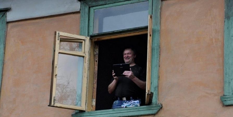 В Мурманской области стартовал флешмоб «Победа из моего окна»