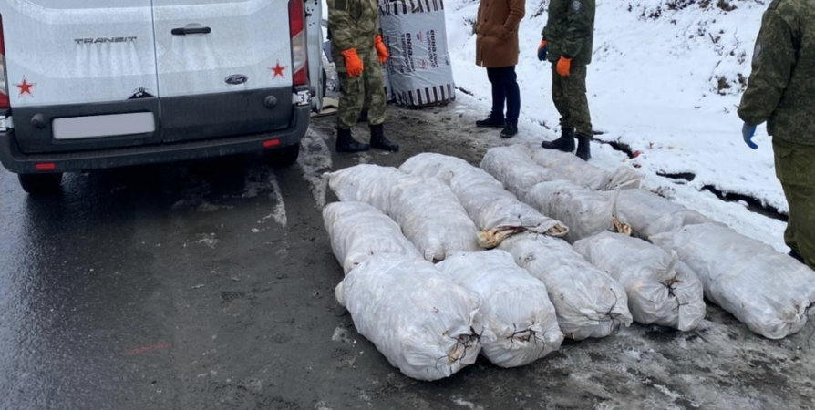 В Мурманской области поймали браконьеров с крабом на 14 млн