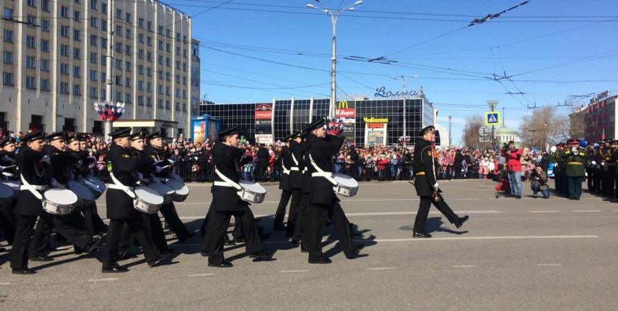 Рота барабанщиков мурманской «Нахимовки» возглавит парадные колонны 9 мая