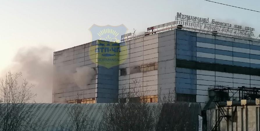 На мусоросжигательном заводе в Мурманске ликвидировали пожар
