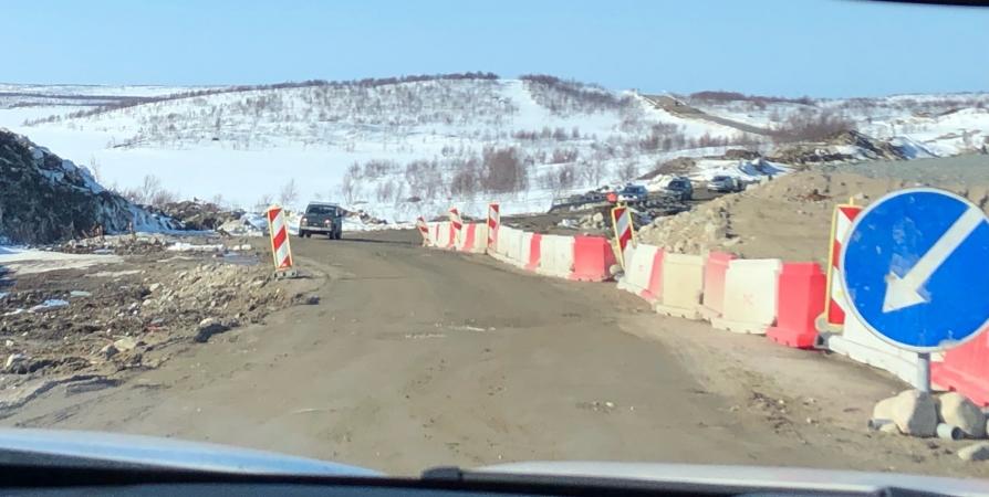 Дорогу на Туманный открыли для легковых авто