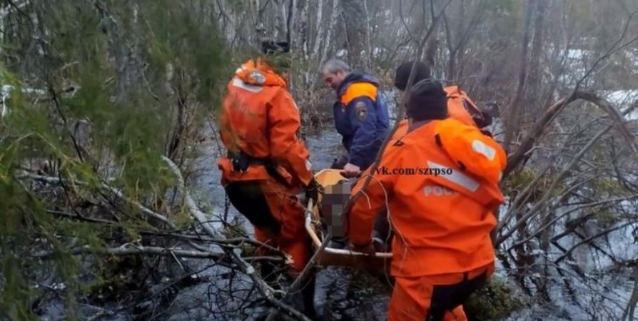 Под Мурманском спасатели обнаружили тело пропавшего рыбака