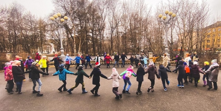 Танцевальную «Подзарядку» провели для мурманчан на «Ночь музеев»