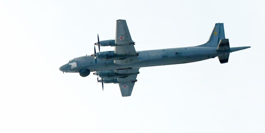 Летчики Северного флота на ИЛ-38 искали «вражеские» подлодки в Баренцевом море