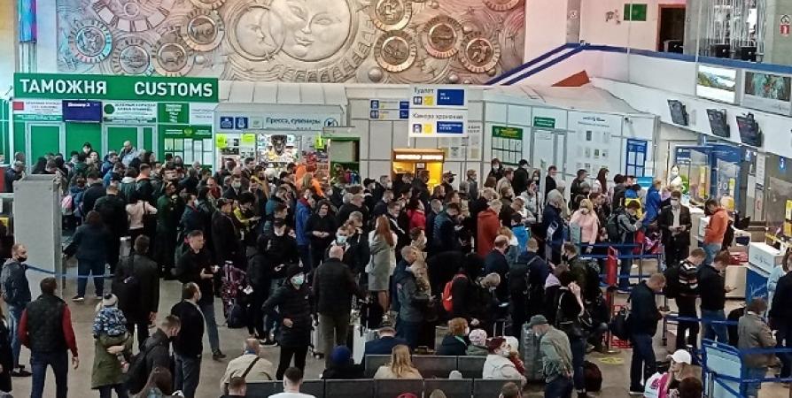 Северян предупредили о задержках авиарейсов из-за технического сбоя