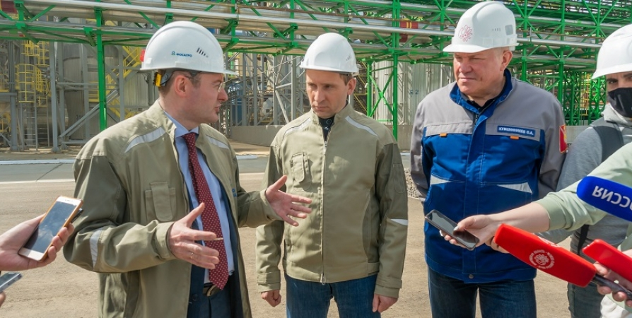 Министр природных ресурсов РФ дал высокую оценку эко-инвестициям ФосАгро