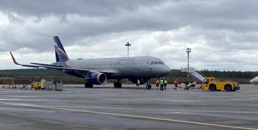 Первый авиарейс из Анапы прибыл в Мурманск