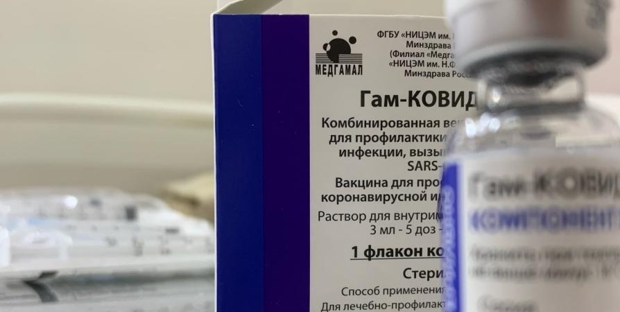 За выходные в мобильных пунктах Мурманска от CoViD-19 привились 110 человек