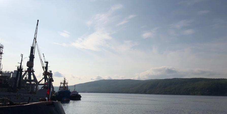 В Мурманске на Ладыгина 19 пожарных потушили неэксплуатируемое судно