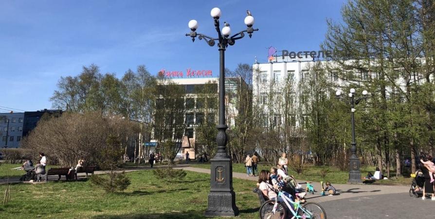 До +29° поднялся столбик термометра в Мурманской области