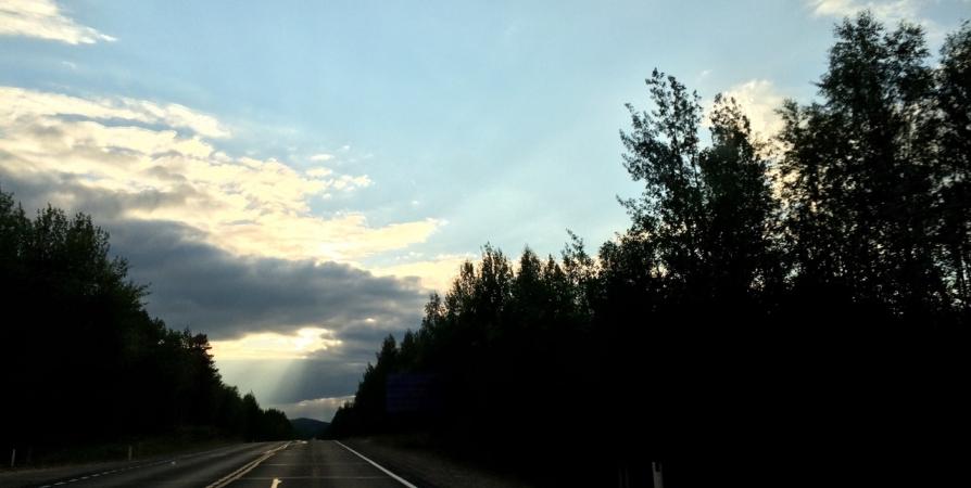 Четыре дня будут перекрывать дорогу при въезде в Североморск