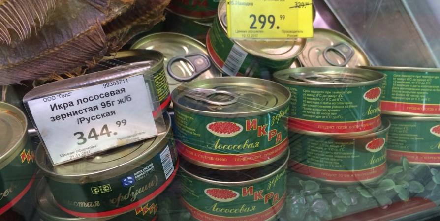 В мурманском гипермаркете посетитель прятал в карманы ворованные продукты